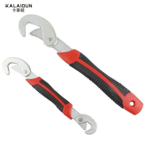 Image of KALAIDUN Multi-Function 2pcs Universal Wrench  Adjustable Grip Wrench set 9-32mm ratchet wrench Spanner hand tools
