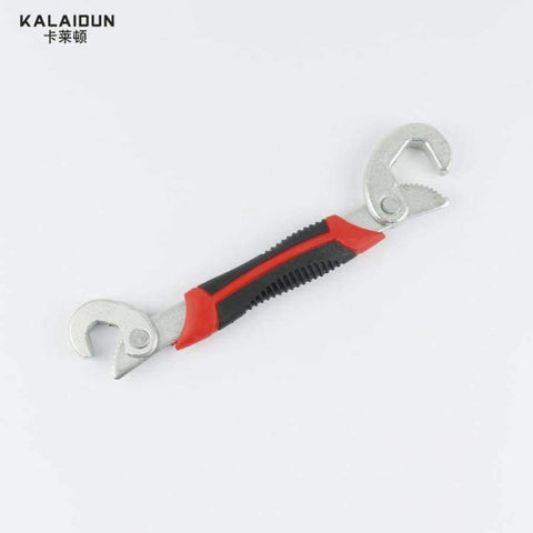 Image of Planet Gates China / big KALAIDUN Multi-Function 2pcs Universal Wrench  Adjustable Grip Wrench set 9-32mm ratchet wrench Spanner hand tools