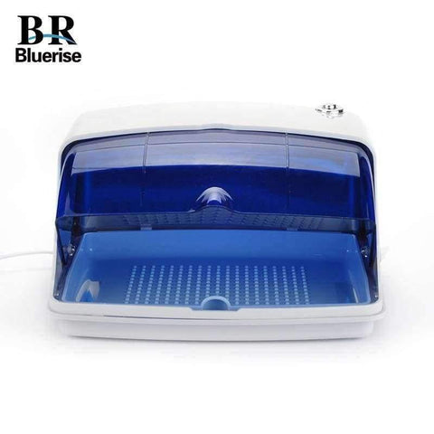 Planet Gates China / EU plug 220v UV Sterilizer Professional Nail Art Disinfection & Clean Nail Art Equipment Tray Temperature Sterilizer Tool 220V EU Plug 9003
