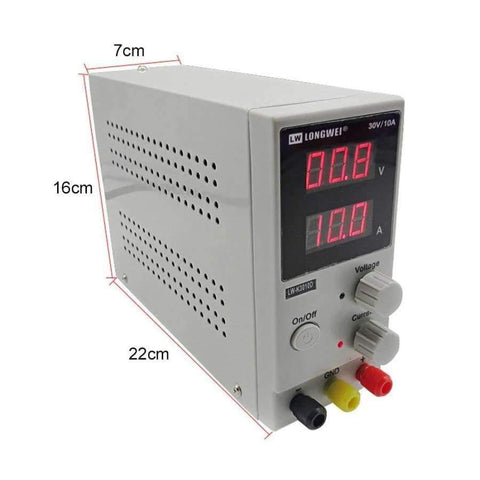 Image of Planet Gates China LW-K3010D DC Power Supply Adjustable Digital Lithium Battery Charging 30V 10A Voltage Regulators Switch Laboratory Power Supply