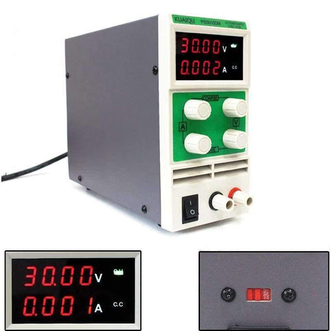 Planet Gates China Mini Adjustable DC Power Supply laboratory Power Supply Digital Variable Voltage regulator 30V 10A 4 led display PS3010DM