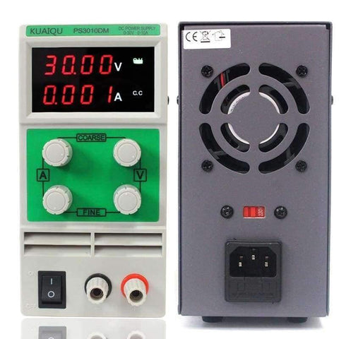Image of Planet Gates China Mini Adjustable DC Power Supply laboratory Power Supply Digital Variable Voltage regulator 30V 10A 4 led display PS3010DM