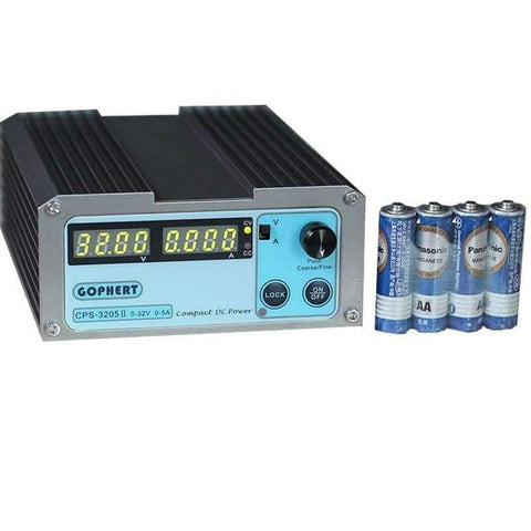 Planet Gates China Voltage Regulators CPS-3205II Switching Laboratory DC Power Supply 32V 5A 0.01V 0.001A Digital Adjustable Mini DC Power Supplies