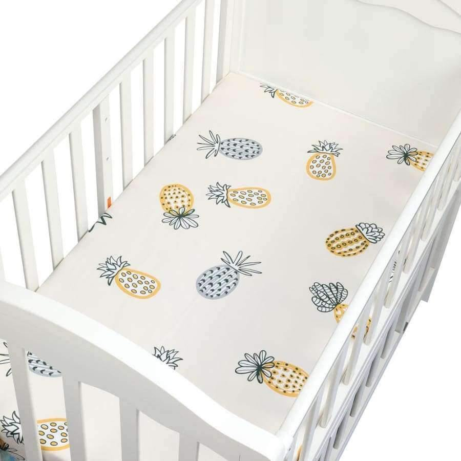 Planet Gates CLS0029 Newborn baby crib fitted sheets Cartoon soft crib bed sheet cotton kids bedding mattress protectors covers baby bedsheet 130*70