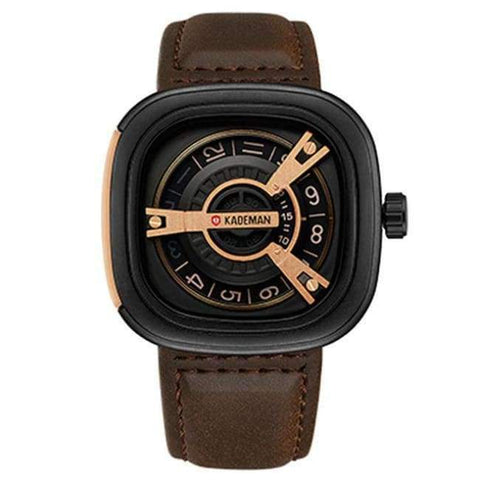 Planet Gates coffee KADEMAN Creative Watches Men Luxury Brand Quartz Watch Fashion Sports Reloj Hombre Waterproof Clock Male Watch Relogio Masculino