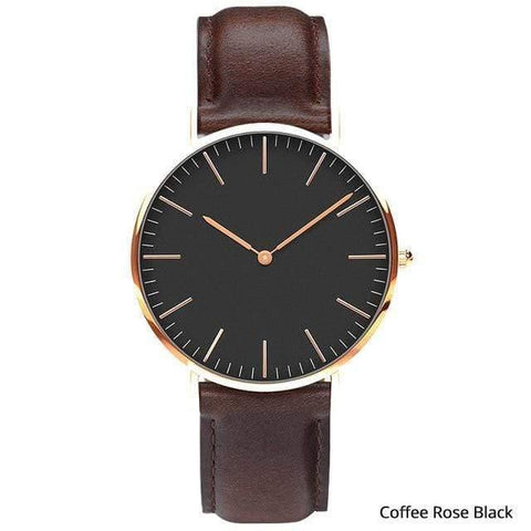 Planet Gates Coffee rose black Mens Stainless Steel Bracelet Quartz Watch Fashion Rose Gold Silver Man Watch Style Men Dress Watch 40mm