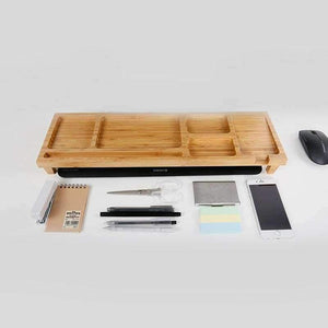 Computer Keyboard Stationery Holder Wooden Creative Office School Supplies Desk Accessories Organizer Stationery Holder