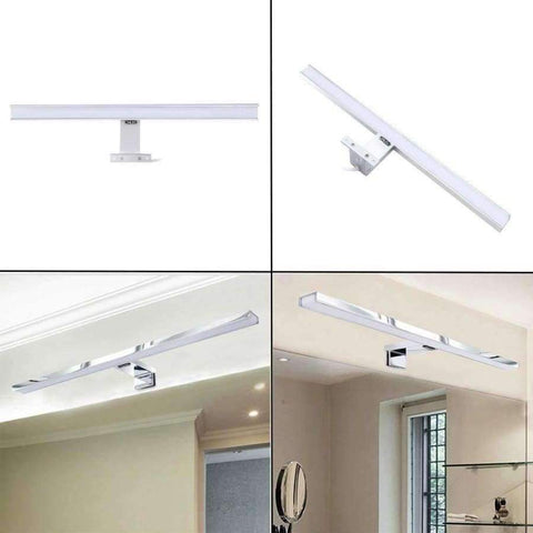 Planet Gates CroLED Wall Lamp 8W 600LM Waterproof Bathroom Fixtures makeup toilet bar Led light front mirror lighting IP44 Warm White