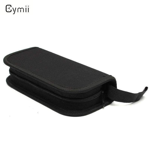 Planet Gates Cymii Black Nylon Watch Repair Tool Kits Watches Accessories Bag For Watch Case Opener Screwdriver Storage Bag