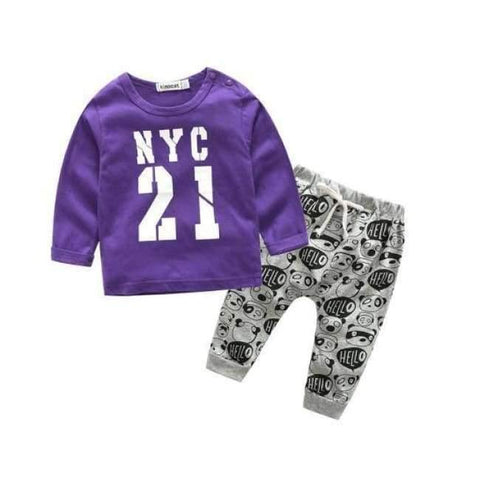 Planet Gates d / 24M Newborn clothes for bebes style letter printed casual baby boy clothes baby newborn baby clothes baby clothing kids clothes