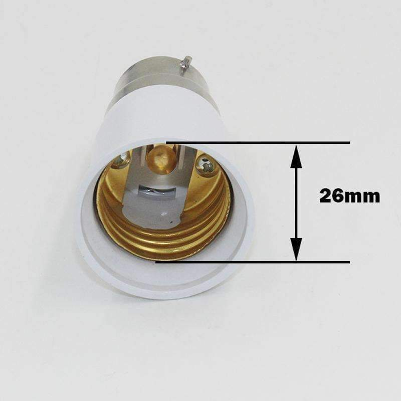 Lighting Lamp Base To Light Accessories Converter B22 Bayonet Screw Led Socket E27 For Bulb Adapter QtdBhrxsC