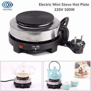 Electric Mini Stove Hot Plate Cooking Plate Multifunction Coffee Tea Heater Home Appliance Hot Plates for Kitchen 220V 500W