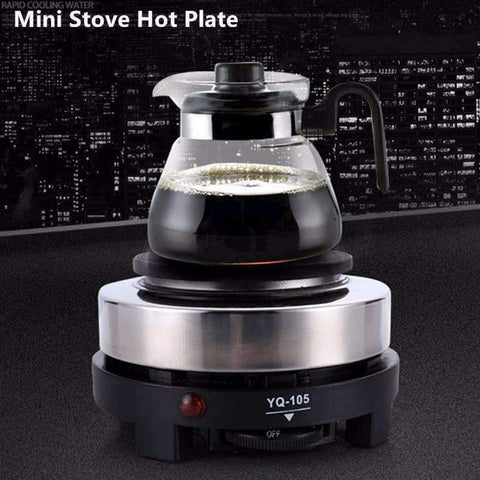 Planet Gates Electric Mini Stove Hot Plate Cooking Plate Multifunction Coffee Tea Heater Home Appliance Hot Plates for Kitchen 220V 500W