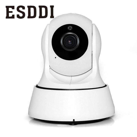 Planet Gates Esddi New HD 720P 1.0MP WiFi IP Network Camera Security Cam Baby/Pet Monitor Professional Home Safety Consumer Camcorders Gift