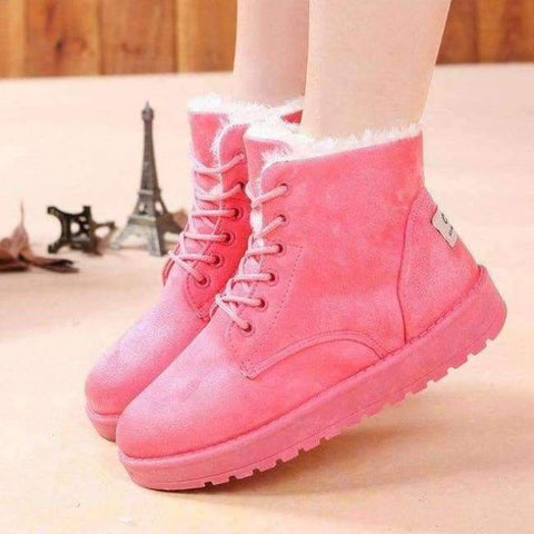 Image of Planet Gates Fashion warm snow boots 2018 heels winter boots new arrival women ankle boots women shoes warm fur plush Insole shoes woman