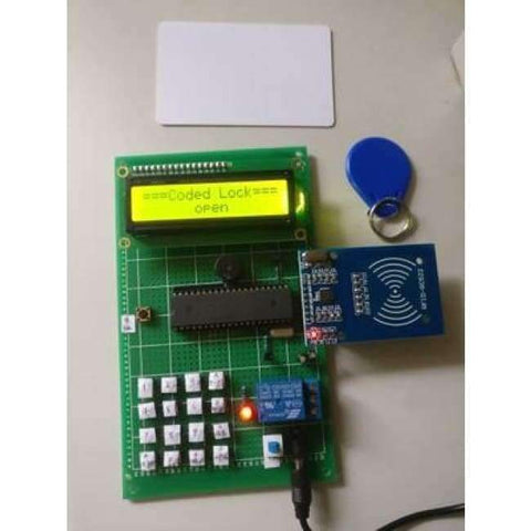 Planet Gates finished product RF password lock design Access control card unlocking system RF card IC card Electronic course kit