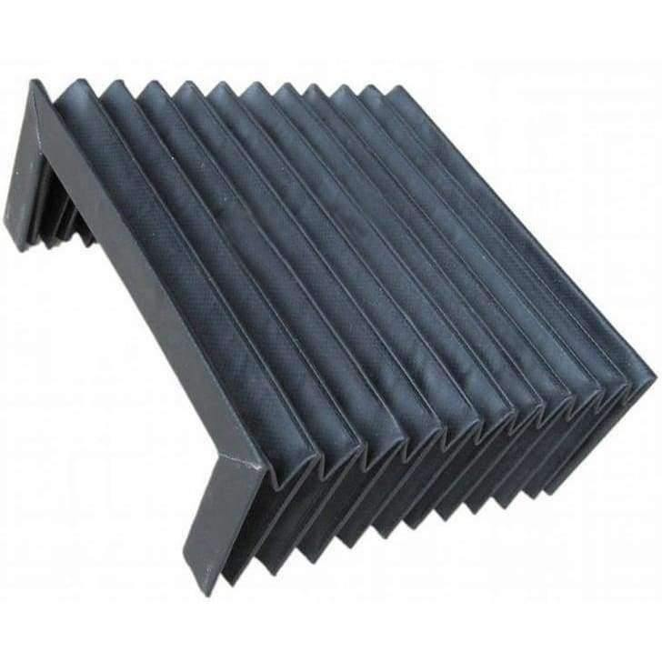 Folded 14 5x6 5x6 5cm Replacement Accordion Shape Flexible Dust Cover for  Milling Machine Unfolded 14 5x24x6 5cm