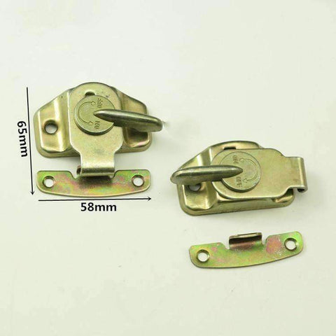 Image of Planet Gates Free Shipping 2pcs/Lot Furniture  Hardware  Spot Desktop Lock Dining Table Buckle Plate Connector Fastener Steel Hasp Agrafe