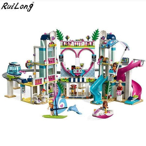 Friends The Heartlake City Resort Model Compatible With Legoingly Friends 41347 Building Block Brick Toys For Children