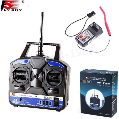 Planet Gates FS 2.4G 4CH FS-CT4B FS-T4B Remote control Radio RC Transmitter & Receiver for RC Helicopter Airplane