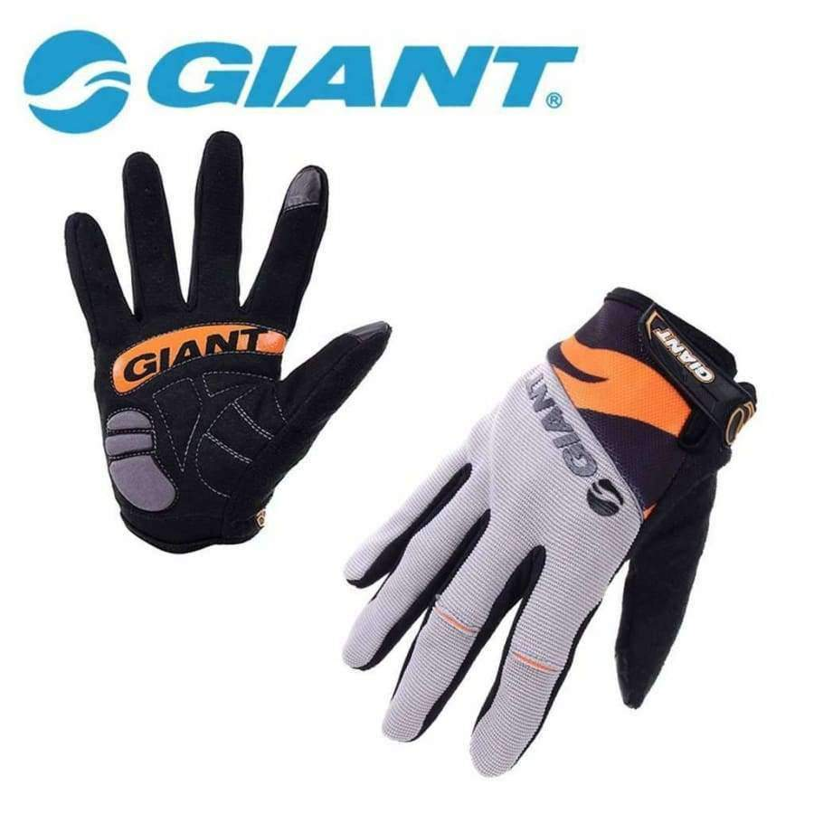 Planet Gates Gloves Blue / M GIANT Winter Shockproof Cycling Gloves Full Finger Nylon Road Bike Gloves Mtb Sports Bicycle Gloves Guantes