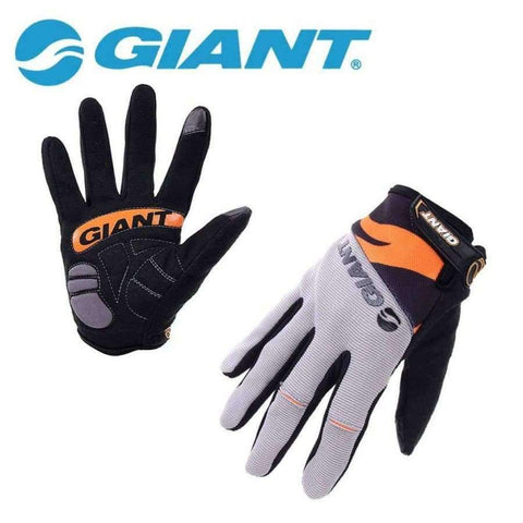 Image of Planet Gates Gloves Blue / M GIANT Winter Shockproof Cycling Gloves Full Finger Nylon Road Bike Gloves Mtb Sports Bicycle Gloves Guantes