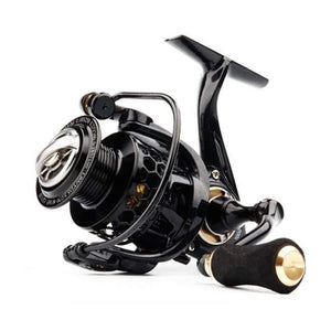 Spinning Reel with Free Spool Lightweight CNC Aluminum Spool 10+1BBs Saltwater Wheel Carp Fishing Reels Carretilha