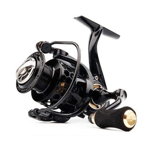 Planet Gates Gold / 11 / 1000 Series Spinning Reel with Free Spool Lightweight CNC Aluminum Spool 10+1BBs Saltwater Wheel Carp Fishing Reels Carretilha