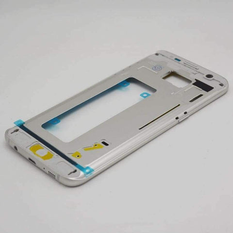 Planet Gates gold Middle frame for Samsung Galaxy S7 edge G935 G935F Back Bezel Housing Case Free Tools Replacement Parts
