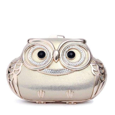 Image of Planet Gates Gold / Mini TOMBARBAR Luxury Handbags Women Bags Designer Bolsa Feminina Mini Clutch Bag owl Evening Bags Women Messenger Bags TM-EB201605