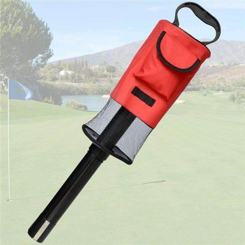 Planet Gates Golf Ball Picker Pick-Ups Retrievers Storage Bag Scooping Device Golf Bags Golf Ball Pick-Up Tool Bag