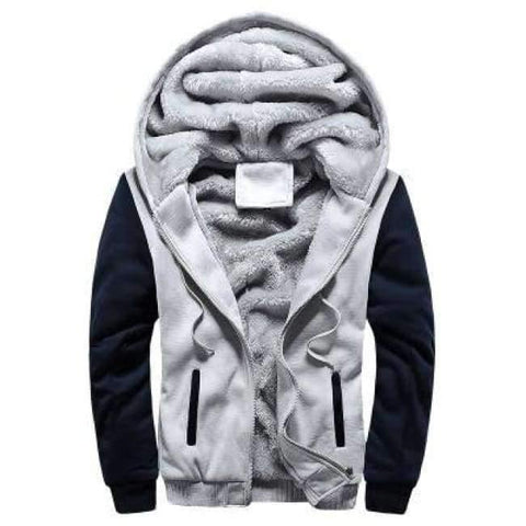 Image of Planet Gates Gray / 15 Boys Clothes Winter Super Warm  Hoodies Sweatshirts Thick Fleece Teenage Boys Camouflage Jackets Velvet Kids Coats 15-20