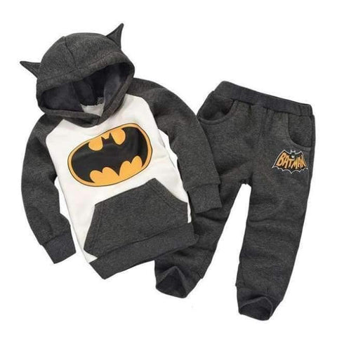 Image of Planet Gates gray / 2T Children Boys Winter Warm Woolen Outerwear Jack Coat Pants Girls Clothing Set Baby Kids Hoody Trousers Camouflage Tracksuit