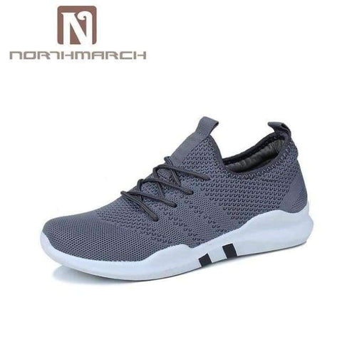 Planet Gates Gray / 7 NORTHMARCH Spring And Summer Fashion Mens Casual Shoes Lace-Up Breathable Shoes Sneakers Mens Trainers Zapatillas Hombre