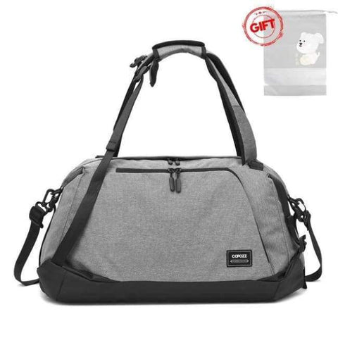 Planet Gates Gray / China Sport Gym Bag 35-55L with Shoes Compartment Waterproof Bag Unisex Backpack Crossbody Support Durable Fitness Travel Bags