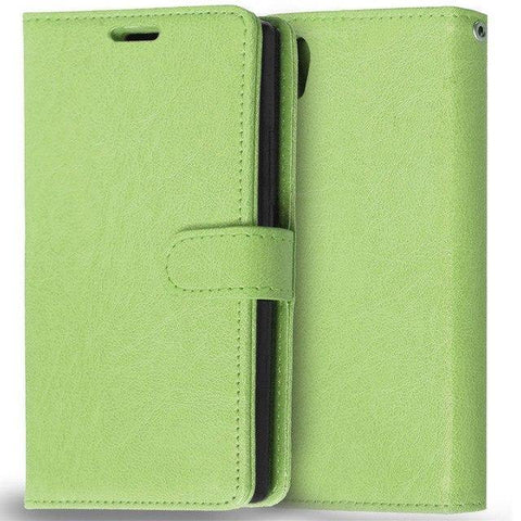 Image of Planet Gates Green Case for Lenovo P70 Cover Luxury Wallet Leather Flip Phone Case For Lenovo P70 P70-A P70T P70-T P 70 Case With Card Slot Holder