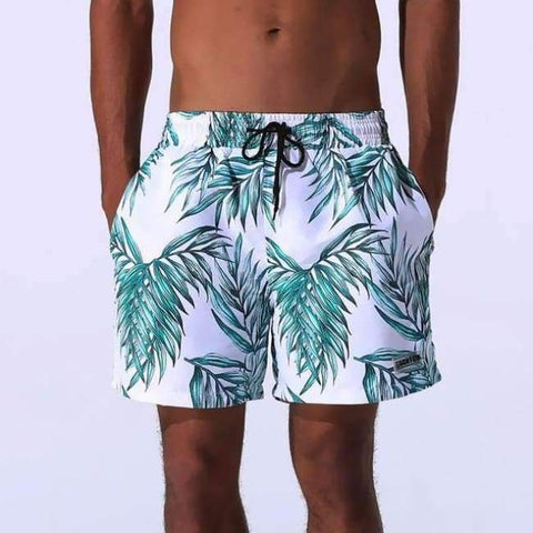 899f6a3761 ... Image of Planet Gates green leaf / L UMLIFE Men Swim Shorts Breathable Swimming  Trunks Sports ...