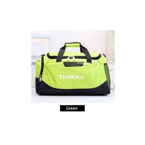 Planet Gates Green New Men Sport Gym Bag Lady Women Fitness Travel Handbag Outdoor Bags with Separate Space For Shoes sac de sport