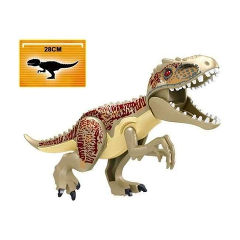 Planet Gates H Jurassic World 2 Dinosaur Building Blocks Legoings Jurassic Dinosaur Figures Bricks Tyrannosaurus Rex Indominus I-Rex Model Toys