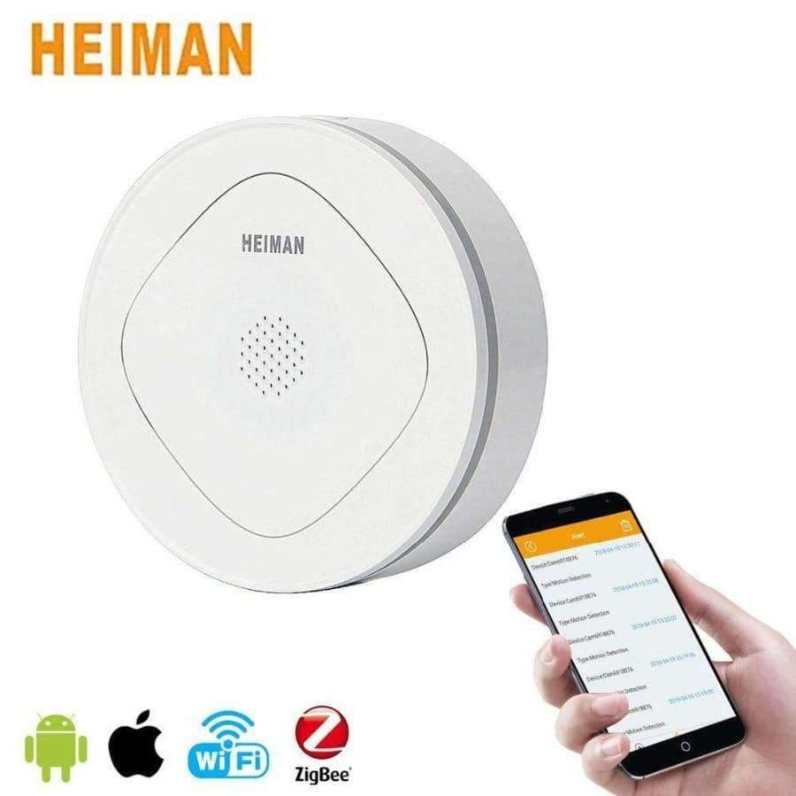 HEIMAN Smart Home Multifunctional Door Sensor Gateway Home security and  protection Wifi APP Remote Control Alarm System HM-HS3GW