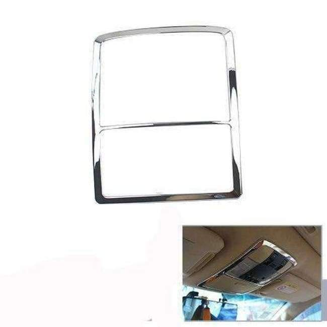 Planet Gates Highlight  Silver 3 For Toyota Land Cruiser 150 Prado LC150 FJ150 2010-2017 Interior Moulding Trim Cover Chrome Package Car Styling Accessories