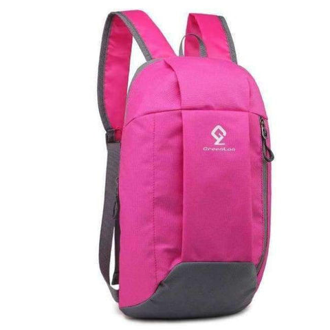 Planet Gates Hot Pink Gym Cycling Bag Women Foldable Backpack Outdoor Kids Mini Sports Luggage Bag Fitness Climbing Men Sport Bags 10L