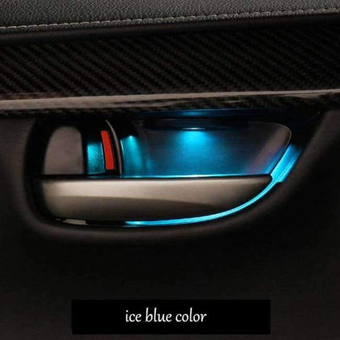 Image of Planet Gates ice blue lsrtw2017 interior accessories car Atmosphere lights for lexus nx200 nx300h nx200t 2015 2016 2017 2018