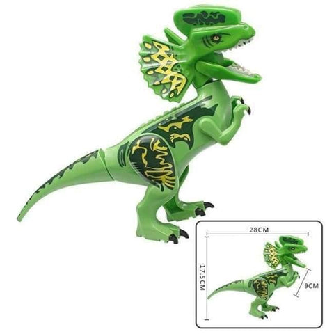 Planet Gates J Jurassic World 2 Dinosaur Building Blocks Legoings Jurassic Dinosaur Figures Bricks Tyrannosaurus Rex Indominus I-Rex Model Toys
