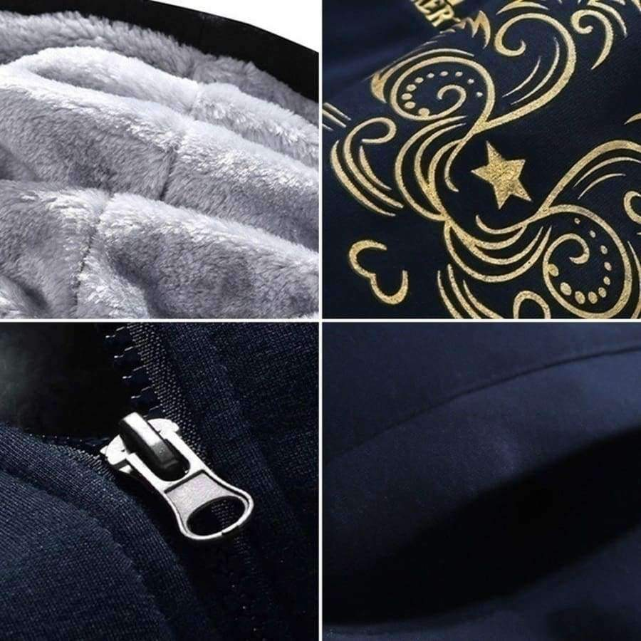 Planet Gates Jackets Black / XS Promotion FOR SPORTING MEN!!! Jogging Suits Man Casual Baseball Uniforms Slim Fit Sportswear
