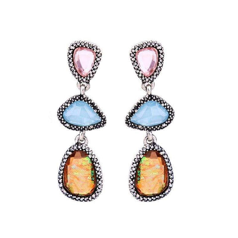 Image of Planet Gates JOOLIM Jewelry Wholesale Earring Gorgeous Geo-cut Shape Valentine's Day Gift Drop Earring Dangle Earring