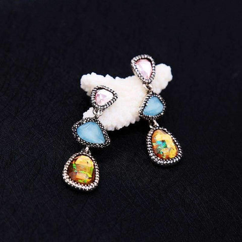 Planet Gates JOOLIM Jewelry Wholesale Earring Gorgeous Geo-cut Shape Valentine's Day Gift Drop Earring Dangle Earring