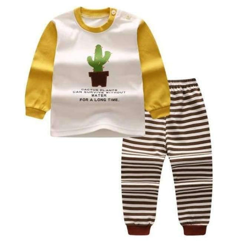 Planet Gates K / 24M Cartoon Shirt+pants 2pcs Children's Clothing Set Outfit Toddler Baby Boys Long Sleeves Set 12m-5t For Autumn