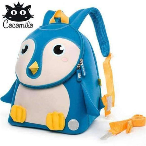 Planet Gates KZ102 Cocomilo Cute Animal Pattern School Bags Baby Kids Small Bag For Girls Boys Cartoon Children Anti-lost Bag Kindergarten Backpack