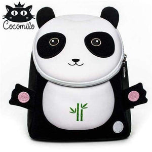 Cocomilo Cute Animal Pattern School Bags Baby Kids Small Bag For Girls Boys Cartoon Children Anti-lost Bag Kindergarten Backpack